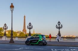smart Como électrise la Tour Eiffel